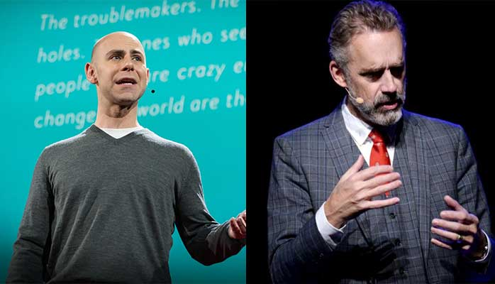 Celebrity Psychologists, Adam Grant, Jordan Peterson